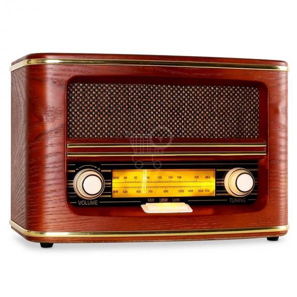 AUNA Retro rádio Belle Epoque 1905 Retro-Radio, AM, FM