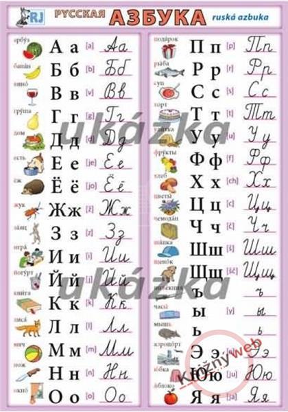 Azbuka - ruská azbuka ()