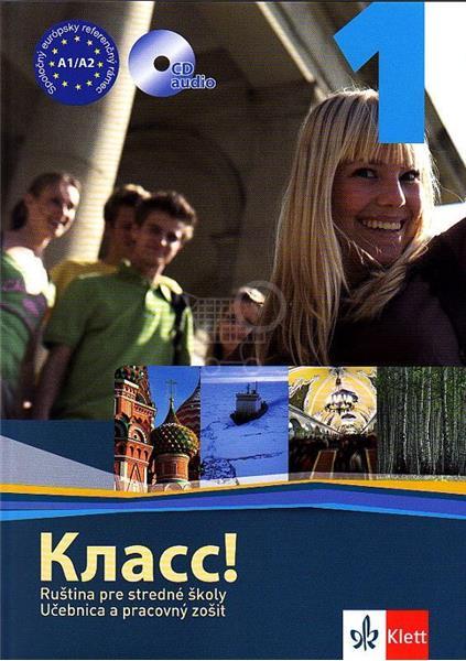Klass! 1 Učebnica+prac.zošit+CD (Orlova Natalia, Vágnerová Marta, Kožušková Miroslava)