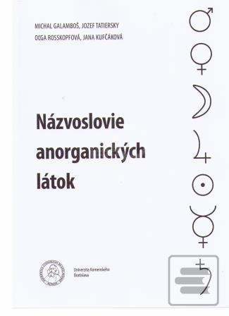 Názvoslovie anorganických látok (Michal Galamboš) [SK] (Kniha)