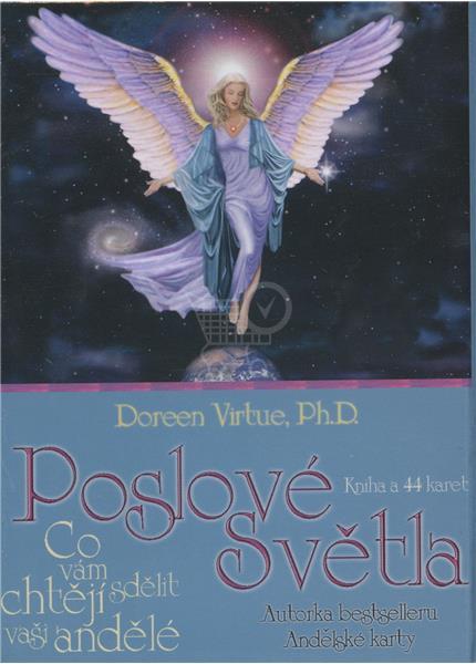 Poslové světla - kniha A 44 karet (Doreen Virtue)