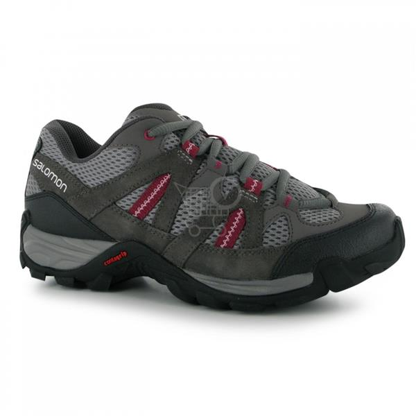 SALOMON Aztek Vent Ladies Walking Shoes Pewter/Autobahn 5 (38)