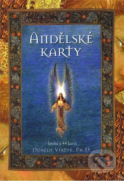 Andělské karty - kniha A 44 karet (Doreen Virtue)