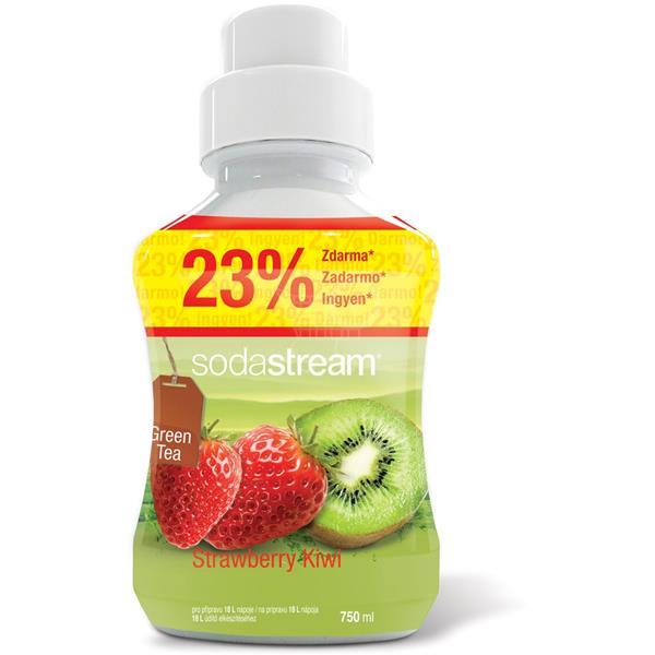 Sodastream Sirup GREEN ICE TEA KIWI/JAH. 750 ml