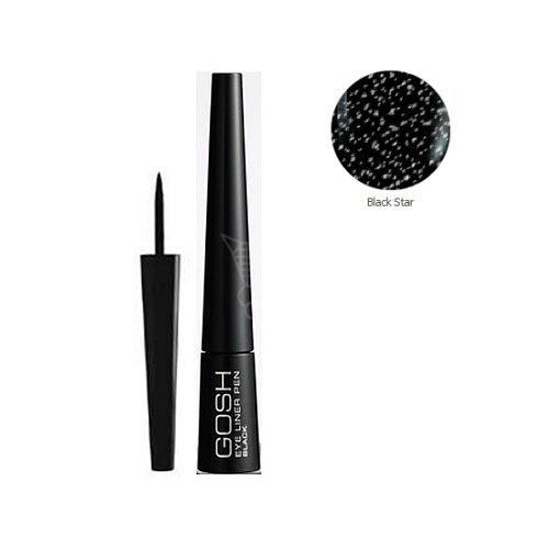 Očná linka GOSH Eye Liner Pen, tekutá očná linka black 2,, 5