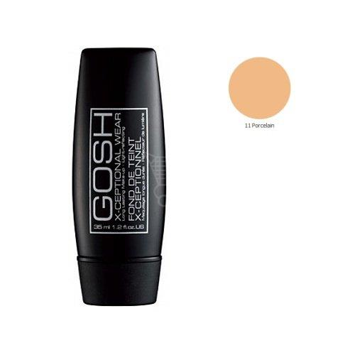 GOSH X-Ceptional Wear Make-Up, jemný makeup Porcelain 11 35 ml