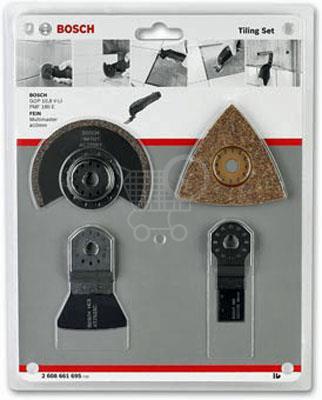 BOSCH súprava 4-dielna na dlaždice pre PMF a GOP 2608661695