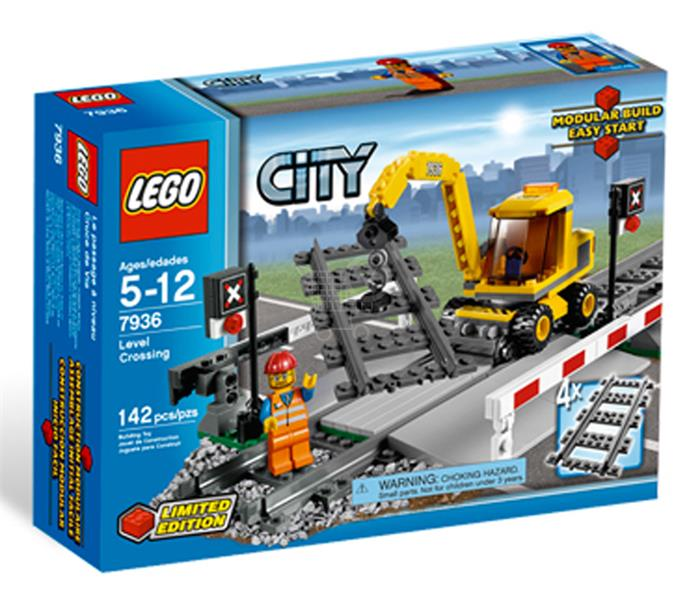 LEGO CITY 7936 - Železničný prechod