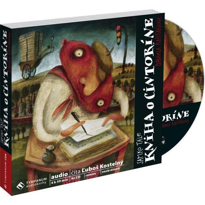 Kniha o cintoríne (4 CD) (Samko Tále)
