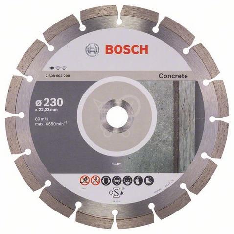 BOSCH Diamantový Rezací kotúč BPE, priemer 230 mm