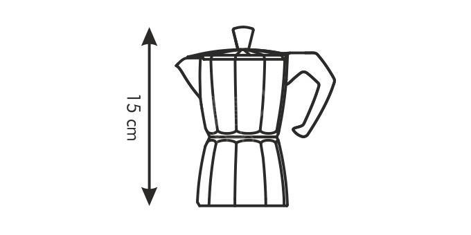 TESCOMA 647002 Kávovar PALOMA 2 šálky
