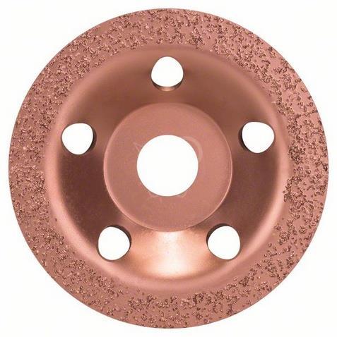 BOSCH-PROFI Brúsny hrncový kotúč S tvrdokovom 115mm, Plochý - jemný -2608600177