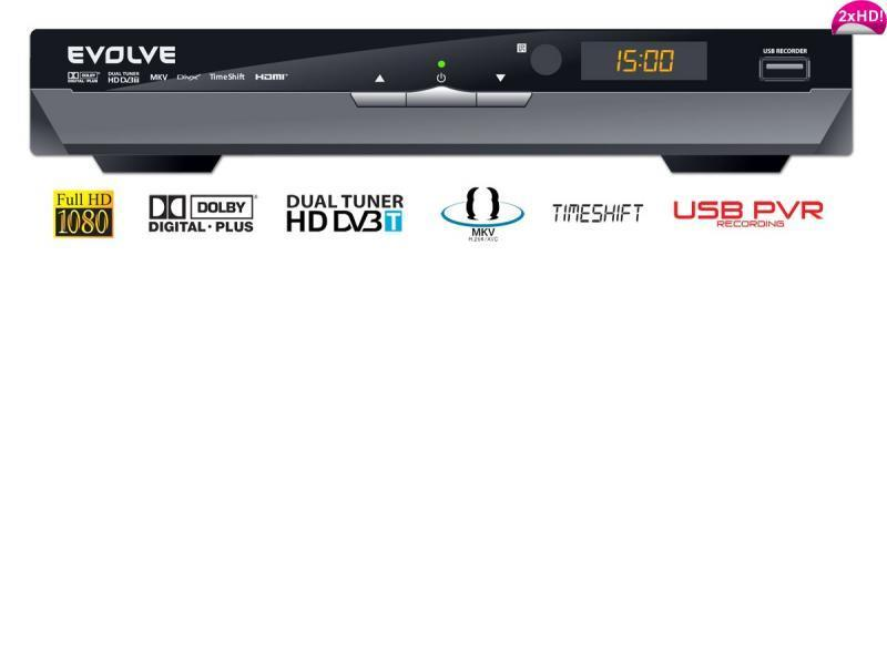 EVOLVE DT-4020HD Andromeda (TimeShift)
