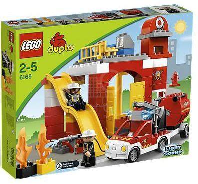 LEGO Duplo 6168 Hasičská stanica
