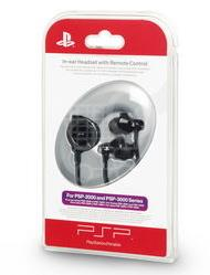 SONY PSP In-ear Headset with Remote Control - SLEH-00082