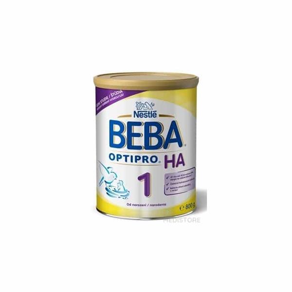 NESTLE Beba H.A. 1 (hypoalergénne dojčenské mlieko 800 g (od narodenia)