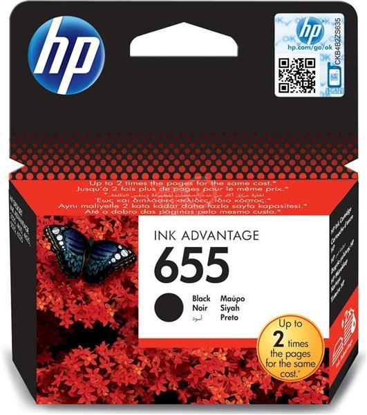 HP Atrament Ink No 655 černá, CZ109AE