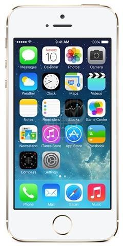 APPLE iPhone 5S 16 GB zlatá