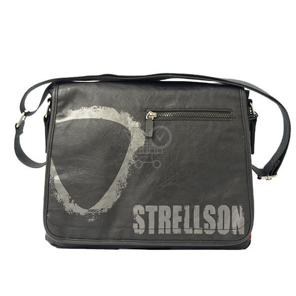 STRELLSON klopnová športová taška cierna 02/11/02068-900