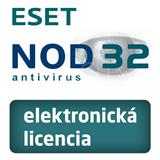 ESET NOD32 Antivirus 4PC + 1rok KB