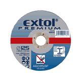 EXTOL PREMIUM Kotúč rezný na kov, 115x1,6x22,2mm