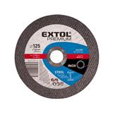 EXTOL PREMIUM Kotúč rezný na kov, 125x2,5x22,2mmExtol PREMIUM