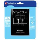 "VERBATIM Store n Go1 2,5"" 1TB USB 3.0"