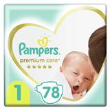 PROCTER&GAMBLE Premium Care 1 Newborn (2-5kg) 78ks