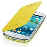 SAMSUNG flipový kryt EFC-1M7F pro Galaxy S III mini (i8190), žlutá EFC-1M7FYEGSTD