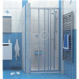 Ravak sprchové dvere ASDP3-130 biele / pearl